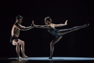 Constanza Perotta Altube, here with Tigran Mkrtchyan, in Stepping StonesPhoto Gregory Batardon