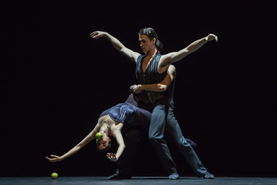Constanza Perotta Altube, Cohen Aitchison-Dugas and Kevin Pouzou in Sweet DreamsPhoto Gregory Batardon