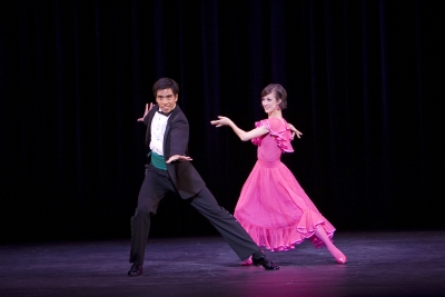 Laura Purkiss and Jonny Caguioa in Nine Sinatra SongsPhoto Bill Cooper