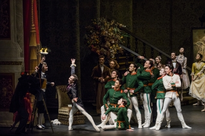 Hamburg Ballet in John Neumeier's The NutcrackerPhoto Kiran West