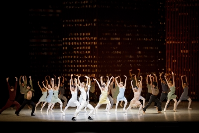 Hamburg Ballet in Bernstein Dances as part of The World of John NeumeierPhoto Kiran West