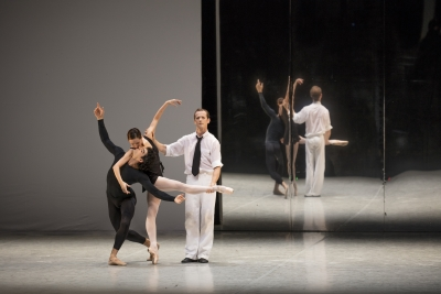 Hamburg Ballet in Death in Venice as part of The World of John NeumeierPhoto Kiran West