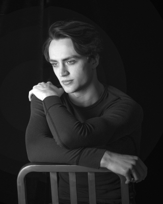 Matthew Ball of The Royal Ballet, who will be appearing in Against the StreamPhoto Andrej Uspenski