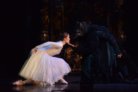A darkly opulent Beauty and the Beast from Birmingham Royal Ballet