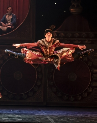 George Liang in Northern Ballet's The NutcrackerPhoto Emma Kauldhar