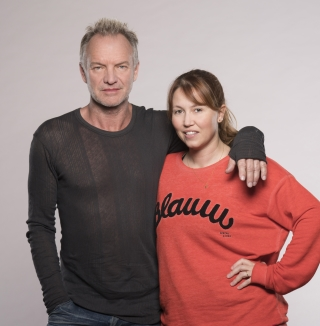 Sting and Kate PrincePhoto Johan Persson
