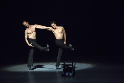 Ivan Urban and Alexander Riabko in Opus 100 - For Maurice,part of The World of John NeumeierPhoto Kiran West