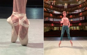Siberian Swan launches the first pointe shoe for men