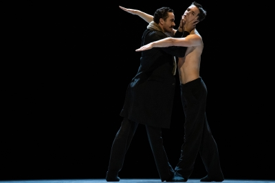 William Moore as Diaghilev with Jan Caiser as Nijinskyin Nijinsky by Marco GoeckePhoto Carlos Quezada