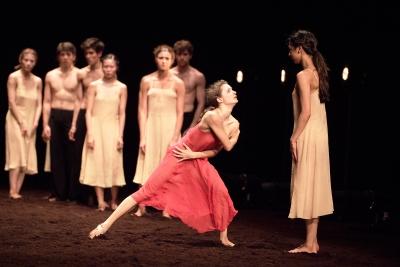 Francesca Velicu in Pina Bausch's Le Sacre du printempsPhoto Laurent Liotardo