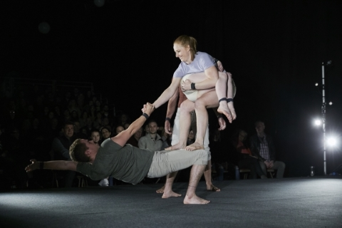 No-frills circus, close-up and lots of fun: Gravity and Other Myths in A Simple Space
