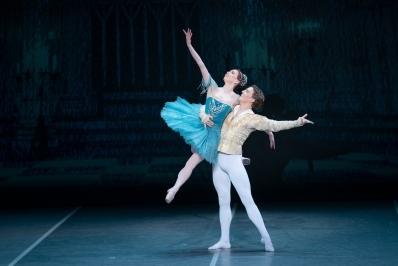 Ekaterina Krysanova and Joseph Caley in RaymondaPhoto Jack Devant