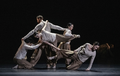 Norwegian National Ballet in How Did I Get Where by Cina EspejordPhoto Jörg Wiesner