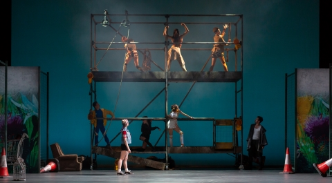Birmingham Royal Ballet in Peter and the Wolf by Ruth BrillPhoto Andrew Ross