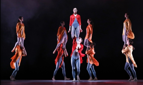 Dutch National Ballet in Ignite by Juanjo Arques. Photo Hans Gerritsen