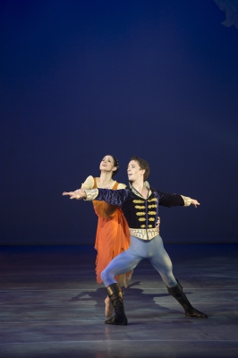 Martha Leebolt and Tobias Batleyin David Nixon's Cinderella Photo Bill Cooper