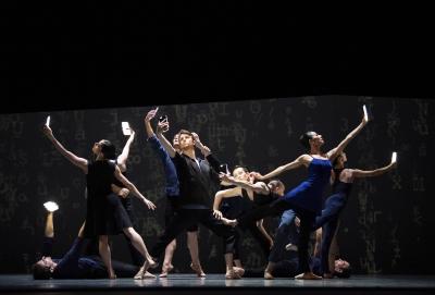 San Francisco Ballet in Christopher Wheeldon's Bound ToPhoto Erik Tomasson