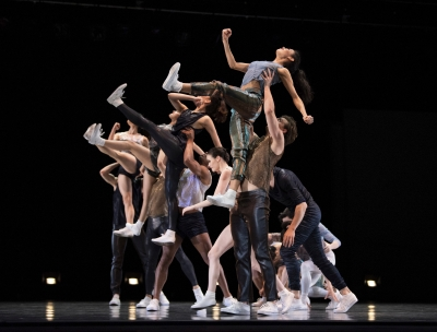 San Francisco Ballet in Justin Peck's Hurry Up, We're DreamingPhoto Erik Tomasson
