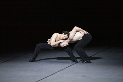 Alexandre Riabko and Ivan Urban in Opus 100 – for Maurice by John NeumeierPhoto Kiran West