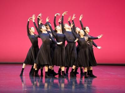 Test Run by graduating student Tabitha DombroskiPhoto Stuttgart Ballet