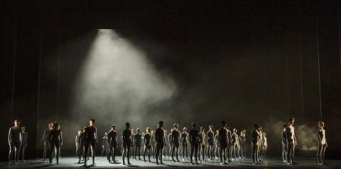 The Royal Ballet School in Pulse by Goyo MonteroPhoto Tristram Kenton