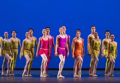 The Royal Ballet School in Alistair Marriott's Simple SymphonyPhoto Tristram Kenton