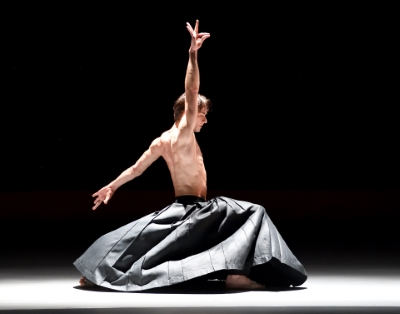 Friedemann Vogel in Kaash by Akram KhanPhoto Stuttgart Ballet