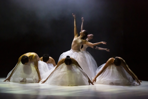 A study in white: B.DANCE in Floating Flowers
