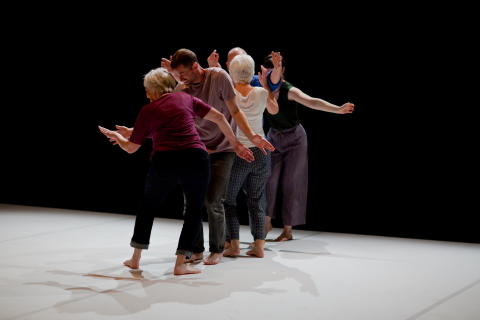 Being together, making dance fun: Ensemble by Robbie Synge and Lucie Boyes