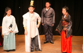 Two Chinese-inspired pieces: Xchange by Dramatic English Shenzen & Qing Snake by Xiao Bai Art Theatre