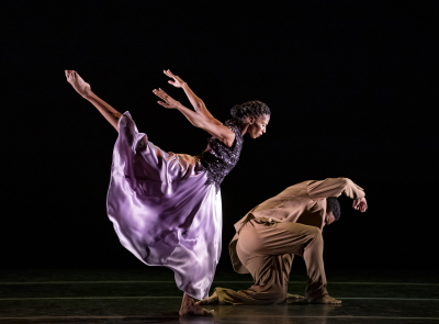 Jacqueline Green and Solomon Dumas in Ronald K. Brown's The CallPhoto by Paul Kolnik