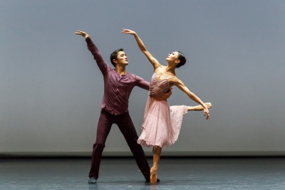 Astana Ballet in Ricardo Amarante's Love, fear, Loss(pictured: Kazbek Akhmediyarov and Tatiyana Ten)Photo Askhat Nurekin