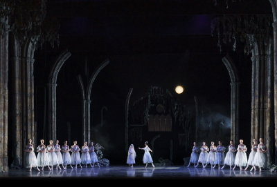 Act Two of Birmingham Royal Ballet's GisellePhoto Bill Cooper