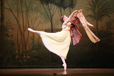 Elisa Badenes as Juliet in John Cranko's Romeo and JulietPhoto courtesy Art Wave