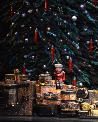 The Nutcracker awaits the magic to comePhoto Bill Cooper