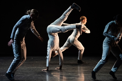 Terms and Conditions by Jermaine Marcus Spivey(dancers: Minouche Van de Ven, Prince Lyons, Nathan Chipps and Emily Gunn)Photo Stephen Wright