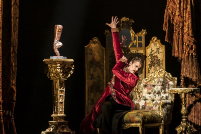 Adam Cooper as Boris Lermontovin Matthew Bourne's The Red ShoesPhoto Johan Persson
