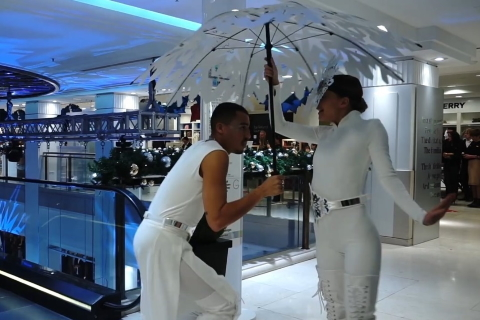 Rambert x Future Fantasy at Selfridges, London