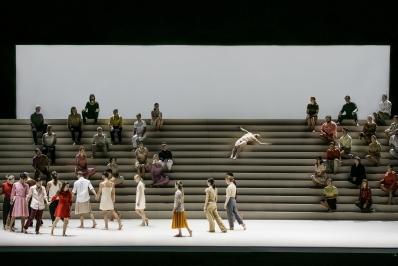 Skånes Dansteater in Mozart's Requiem by Örjan AnderssonPhoto Mats Bäcker