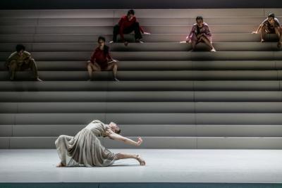 Emma Välimäki in Mozart's RequiemPhoto Mats Bäcker