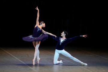 Ekaterina Kondaurova and Timur Askerov in Grand Pas ClassiquePhoto Kristyna Kashvili