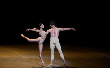 Victoria Valerio and Claudio Corviello in Le ParcPhoto Kristyna Kashvili