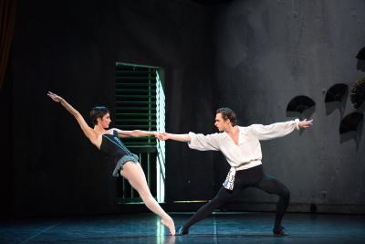 Tamara Rojo and Francesco Gabriele Frola in Roland Petit's CarmenPhoto Laurent Liotardo