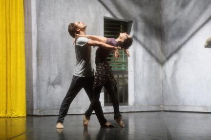 Tamara Rojo and Francesco Gabriele Frola rehearse Carmen Photo Laurent Liotardo