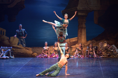 A pirate romp: English National Ballet's Le Corsaire