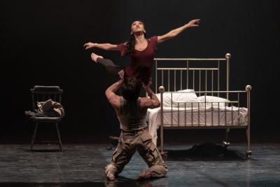 Minju Kang and Lorenzo Trossello in Didy Veldman's CarmenPhoto Riku Ito