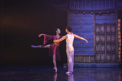 Momoko Hirata and Cesar Morales in David Nixon's Madame ButterflyPhoto Riku Ito