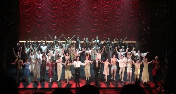 The curtain call at Northern Ballet's 50th anniversary galaPhoto Riku Ito