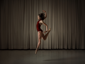 Ballet Vlaanderen principal dancer Nancy Osbaldeston, who will be appearing in McNicol Ballet Collective's opening programmePhoto Shed Mojahid