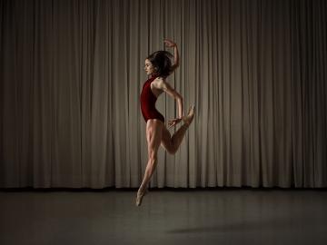 Ballet Vlaanderen principal dancer Nancy Osbaldeston, who will be appearing in McNicol Ballet Collective's opening programmePhoto Shed Mojahid